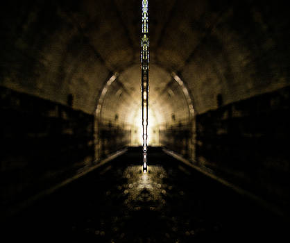 Pelo Blanco Photo - Tunnel Icicle