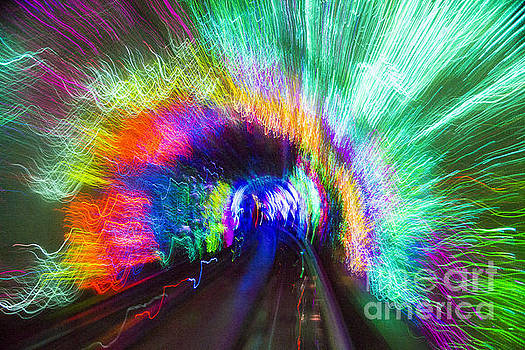 Tunnel Lights by Angela DeFrias