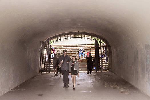 Tunnel Music by Bonnie Follett