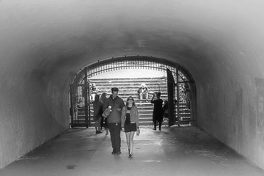 Tunnel Music BW by Bonnie Follett