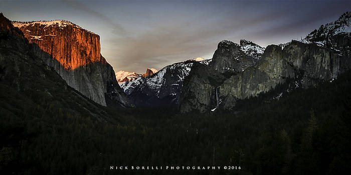 Tunnel View Jan. 2016 by Nick Borelli