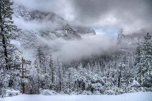 Tunnel View Yosemite National Park Ansel Adams by Wayne Moran
