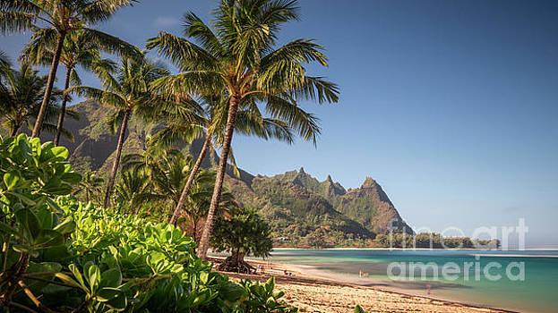 Tunnels Beach Haena Kauai Hawaii Bali Hai by Dustin K Ryan
