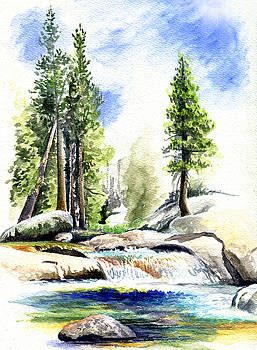 Tuolumne River on an August afternoon by Logan Parsons