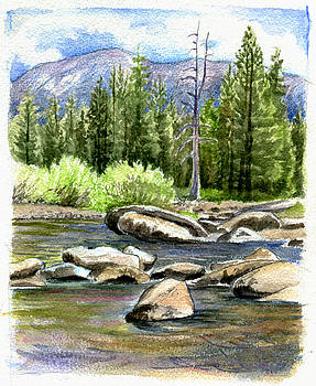 Tuolumne River with Mammoth Peak by Logan Parsons