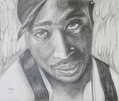 Tupac Shakur II by Stephen Sookoo