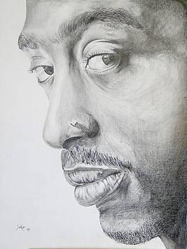 Tupac Shakur by Stephen Sookoo