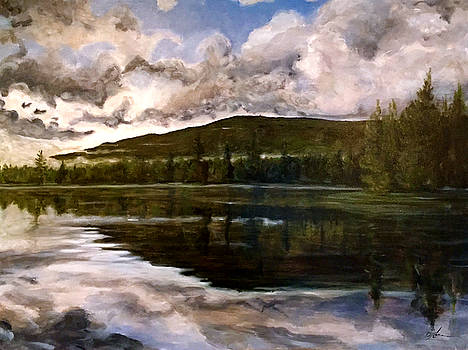 Tupper Lake Evening Mood by David Llanos