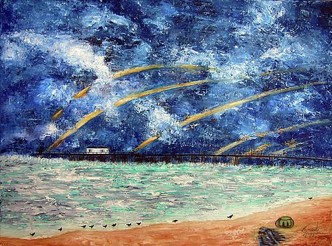 Turbulence at the NJ Shore by Leonardo Ruggieri
