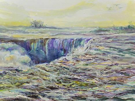 Turbulence edge by Mary Sonya  Conti