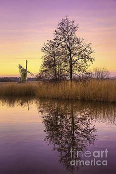 Svetlana Sewell - Turf Fen Mill at Sunrise