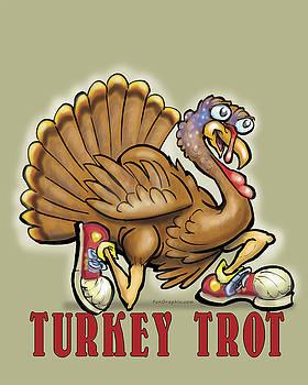 Turkey Trot by Kevin Middleton