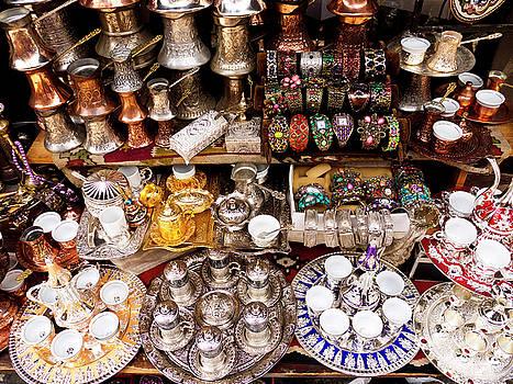 Turkish Bazaar by Rae Tucker