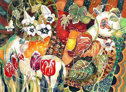 Turkish Garden by Ann Nicholson