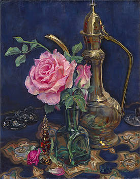 Turkish Rose by Christine Lytwynczuk