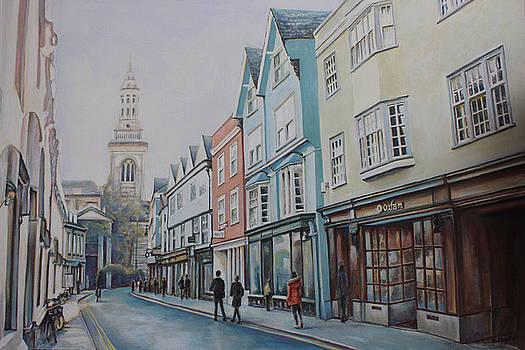 Turl Street Oxford by Andy Lloyd