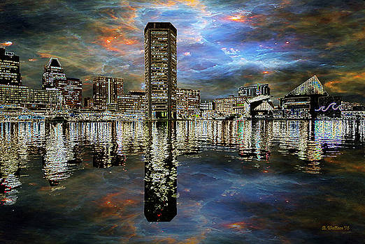 Turmoil In The City by Brian Wallace