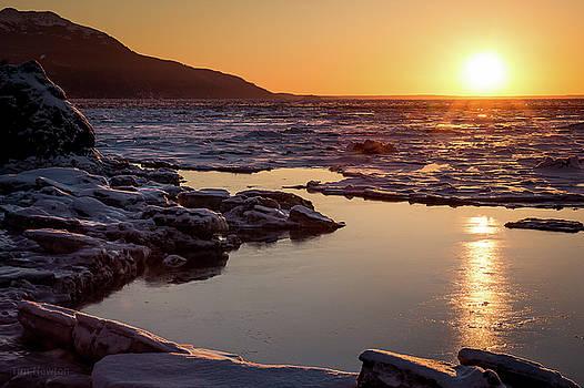 Turnagain Sunset by Tim Newton