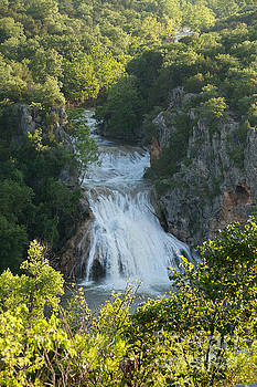 Turner Falls in Summerdays by Iris Greenwell