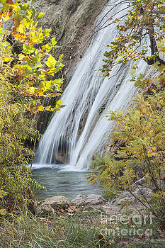 Turner Falls in the Morning Fall by Iris Greenwell