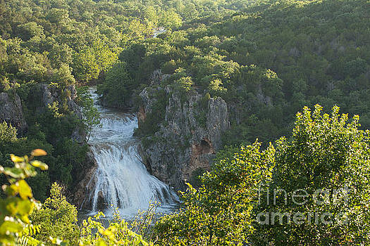 Turner Falls Morning Light by Iris Greenwell