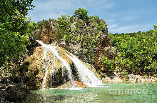 Turner Falls Sideview  by Sari ONeal
