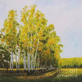Turning gold by Anna Starkova