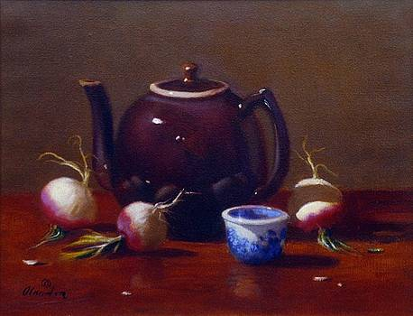 Turnips and Teapot by David Olander
