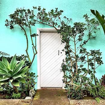 Turqoiuse Wall by Julie Gebhardt