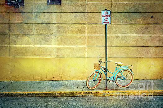 Turquoise Bicycle by Craig J Satterlee