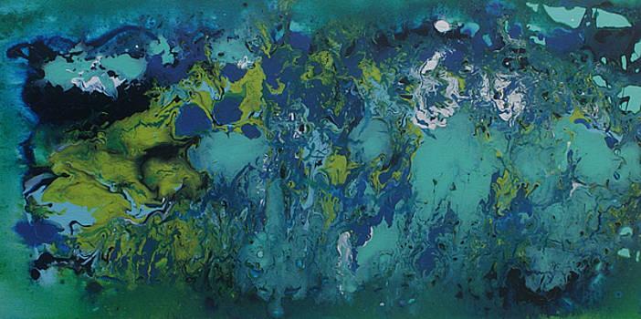 Turquoise Blue by Alma Yamazaki