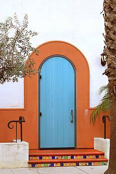 Art Block Collections - Turquoise Door - Santa Barbara