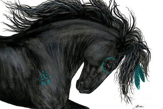 AmyLyn Bihrle - Turquoise Dreamer Horse