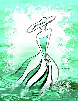 Irina Sztukowski - Turquoise Lady Of Charm