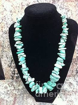 Turquoise Nugget Necklaces  by Joseph Mora