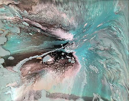 Turquoise Surf by Alynne Landers
