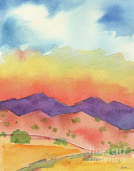 Turquoise Trail by Sheila Golden