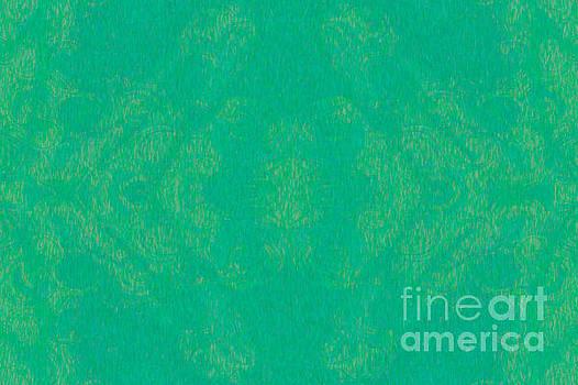 Omaste Witkowski - Turquoise Transitions Abstract Design Art by Omaste Witkowski