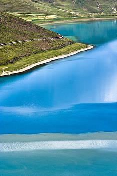 Turquoise water by Hitendra SINKAR
