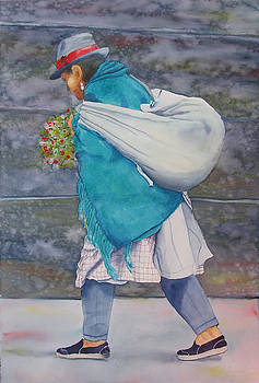 Turquoise Wrap by Libby  Cagle
