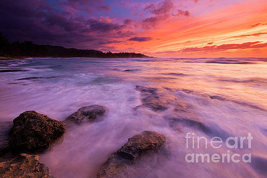 Turtle Bay Sunset by Mike Dawson