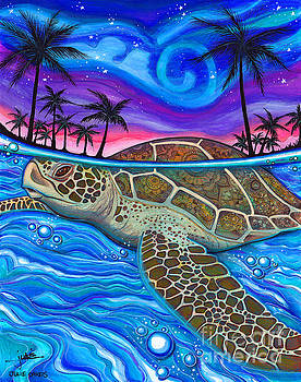 Turtle Beach by Julie Oakes
