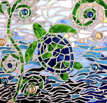 Turtle Mosaic by Jan Marvin