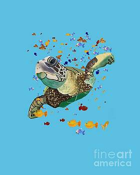 Turtle by Sydne Archambault