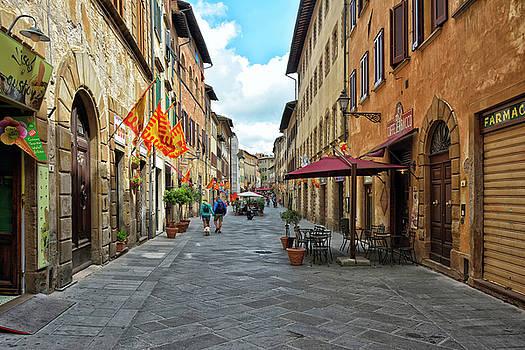 Tuscan Alley by Joachim G Pinkawa