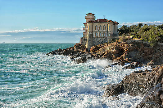 Tuscan Castle by Joachim G Pinkawa