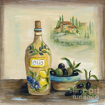 Tuscan Olive Oil With View by Marilyn Dunlap