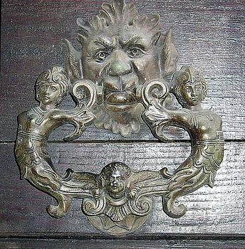 Tuscan Door Knocker by Inge Wright
