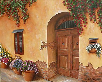 Tuscan Doorway by Debra Dickson