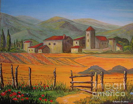 Tuscan Farm by Italian Art